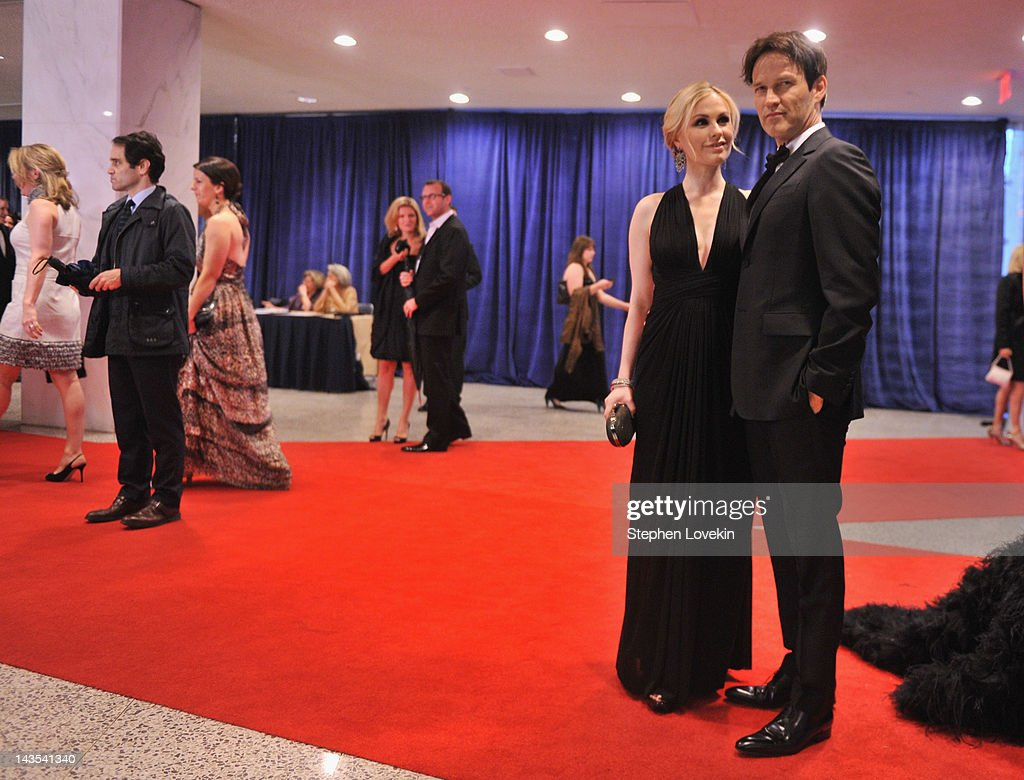 <a gi-track='captionPersonalityLinkClicked' href=/galleries/search?phrase=Anna+Paquin&family=editorial&specificpeople=211602 ng-click='$event.stopPropagation()'>Anna Paquin</a> and <a gi-track='captionPersonalityLinkClicked' href=/galleries/search?phrase=Stephen+Moyer&family=editorial&specificpeople=4323688 ng-click='$event.stopPropagation()'>Stephen Moyer</a> attend the 98th Annual White House Correspondents' Association Dinner at the Washington Hilton on April 28, 2012 in Washington, DC.