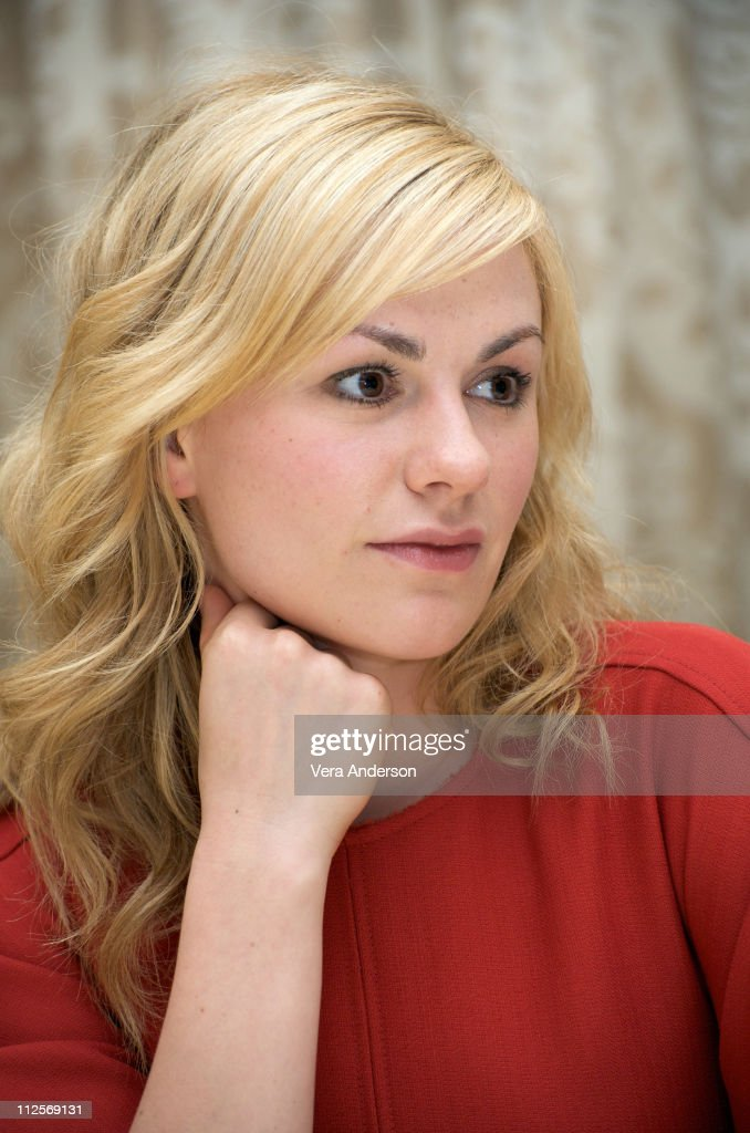 Anna Paquin at the 'True Blood' press conference at the Four Seasons Hotel on July 22, 2009 in Beverly Hills, California.