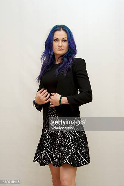 Anna Paquin at the 'True Blood' Press Conference at the Four Seasons Hotel on July 28 2014 in Beverly Hills California
