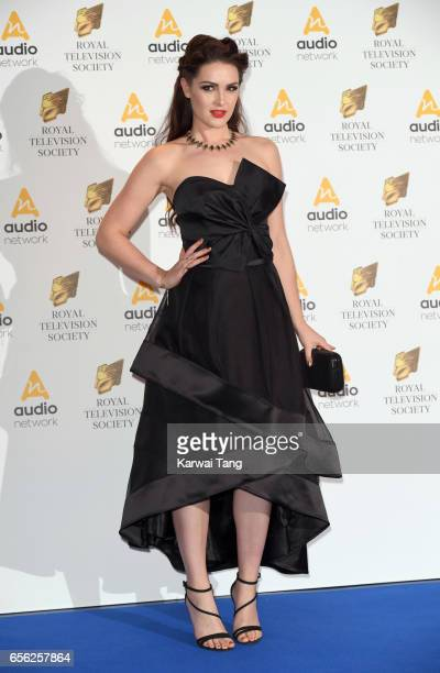 Anna Passey attends the Royal Television Society Programme Awards at the Grosvenor House on March 21 2017 in London United Kingdom
