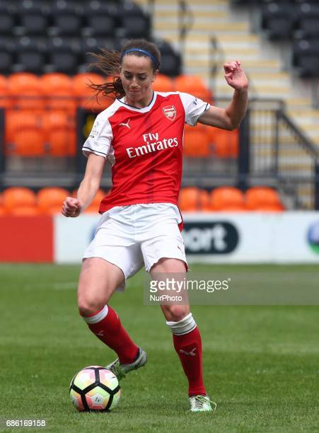 Anna Patten of Arsenal Ladies during Women's Super League 1 Spring Series match between Arsenal Ladies against Birmingham City Ladies at The Hive...