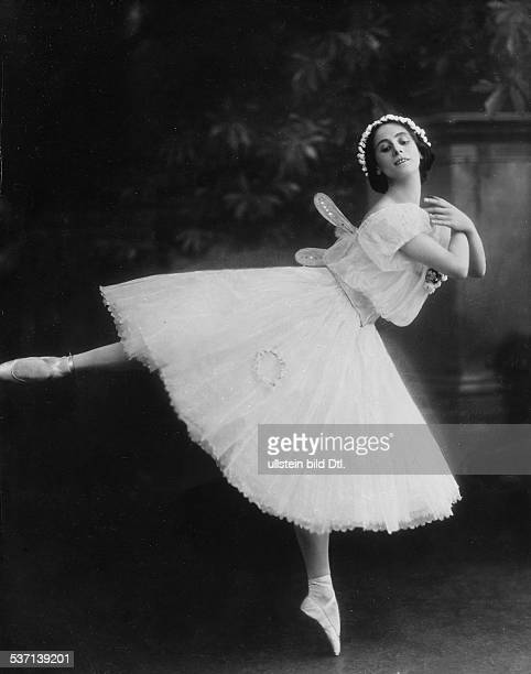 Anna PavlovaAnna Pawlowa Ballettänzerin Tänzerin Russland Primaballerina des ehem Kaiserlichen Hofballetts Petersburg oJ