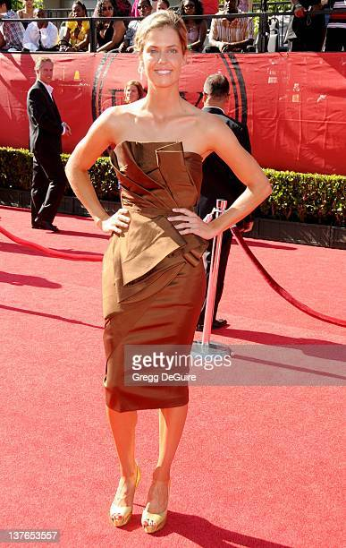 Anna Rawson arrives for the 2009 ESPY Awards at the Nokia Theatre/LA LIVE in Los Angeles California on July 15 2009