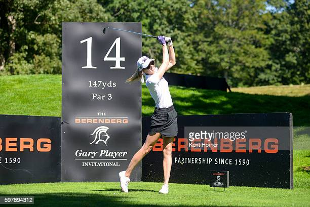Anna Rawson during the The Berenberg Gary Player Invitational 2016 New York at GlenArbor Golf Club on August 29 2016 in Bedford Hills New York