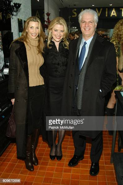 Anna Rhodes Amy McFarland and Steven Victor attend NEW YORKERS FOR CHILDREN SALVIATI CHARITY BENEFIT at Salviati on December 13 2007 in New York City