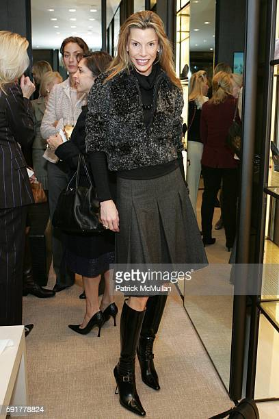 Anna Rhodes attends The Camellia Luncheon Sponsored by Chanel to benefit The New York Botanical Garden at Chanel on October 25 2005 in New York City
