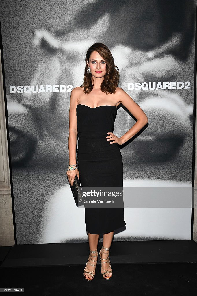 <a gi-track='captionPersonalityLinkClicked' href=/galleries/search?phrase=Anna+Safroncik&family=editorial&specificpeople=4123552 ng-click='$event.stopPropagation()'>Anna Safroncik</a> attends Dsquared2 in-store cocktail on May 30, 2016 in Rome, Italy.