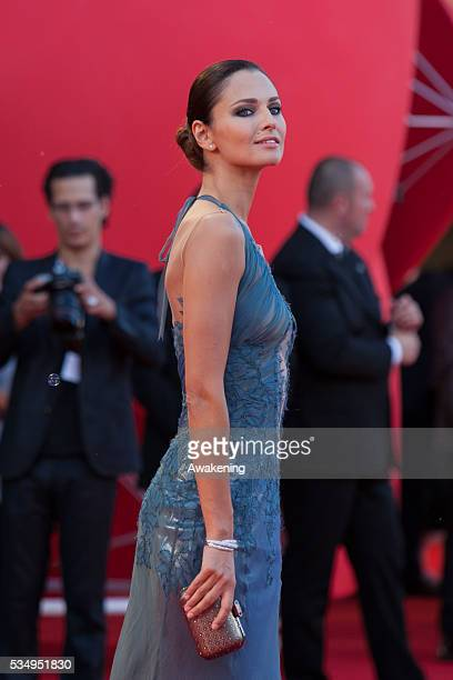Anna Safroncik on the red carpet for 'Philomena' during the 70th Venice International Film Festival
