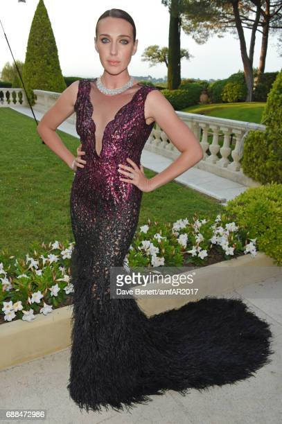 Anna Schafer arrives at the amfAR Gala Cannes 2017 at Hotel du CapEdenRoc on May 25 2017 in Cap d'Antibes France