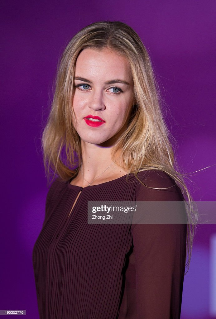 Anna Schmiedlova attends the player party on day 1 of Huajin Securities WTA Elite Trophy Zhuhai at Sheraton Zhuhai Hotel on November 2, 2015 in Zhuhai, China.