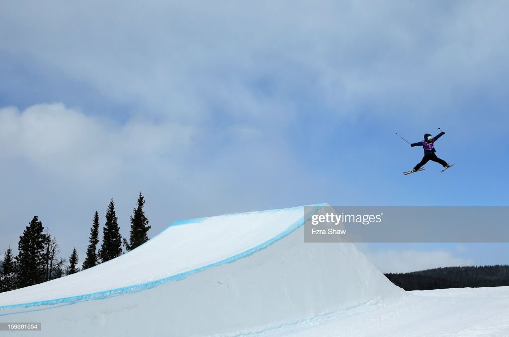 Anna Segal of Australia competes in the FIS Freestyle Ski World Cup ladies' slope style final at the U.S. Grand Prix on January 12, 2013 in Copper Mountain, Colorado.