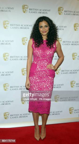 Anna Shaffer attending the British Academy Video Games Awards at the London Hilton Park Lane London