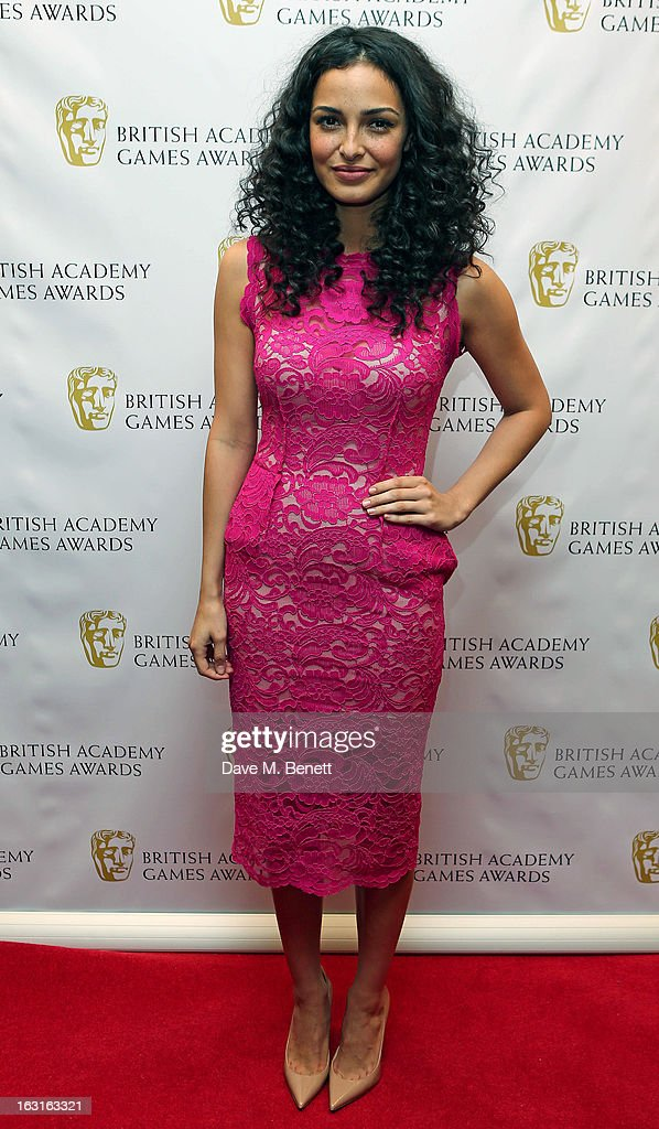 Anna Shaffer attends The British Academy Games Awards at London Hilton on March 5, 2013 in London, England.