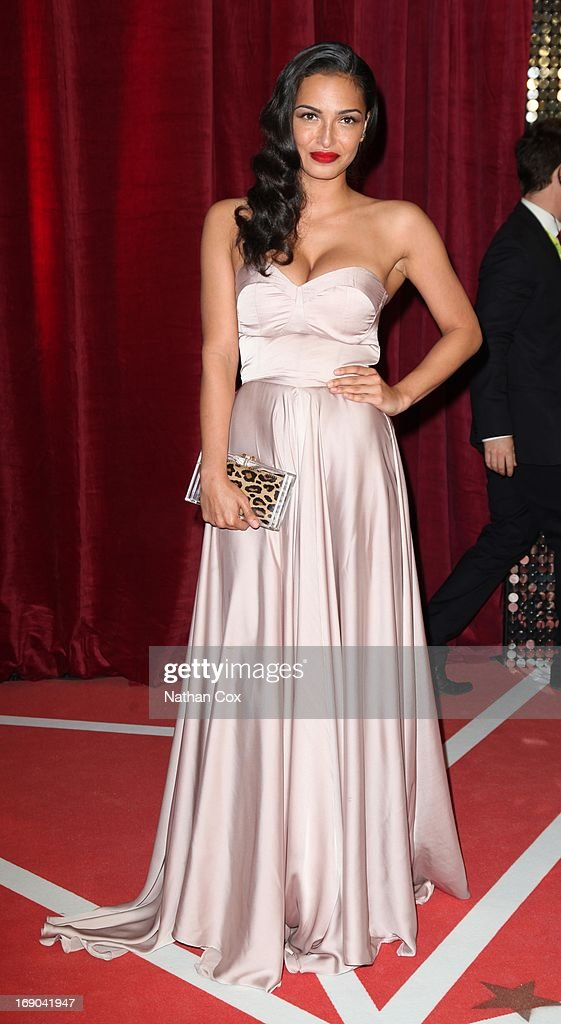 Anna Shaffer attends The British Soap Awards 2013 at Media City on May 18, 2013 in Manchester, England.