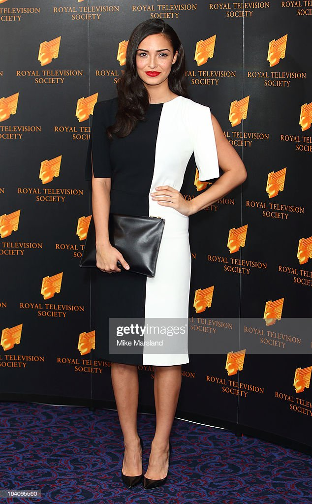 Anna Shaffer attends the RTS Programme Awards at Grosvenor House, on March 19, 2013 in London, England.