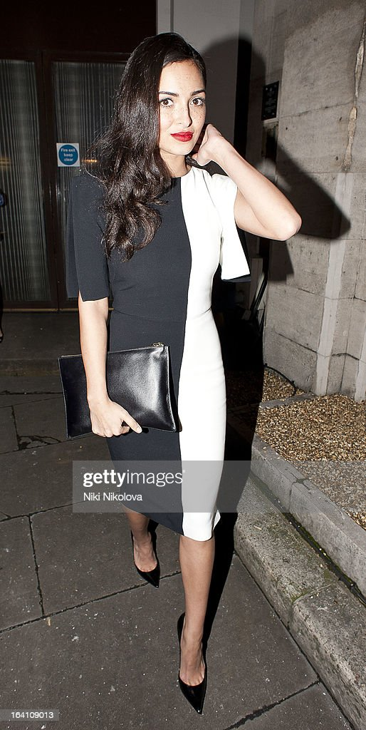 Anna Shaffer sighting on March 19, 2013 in London, England.