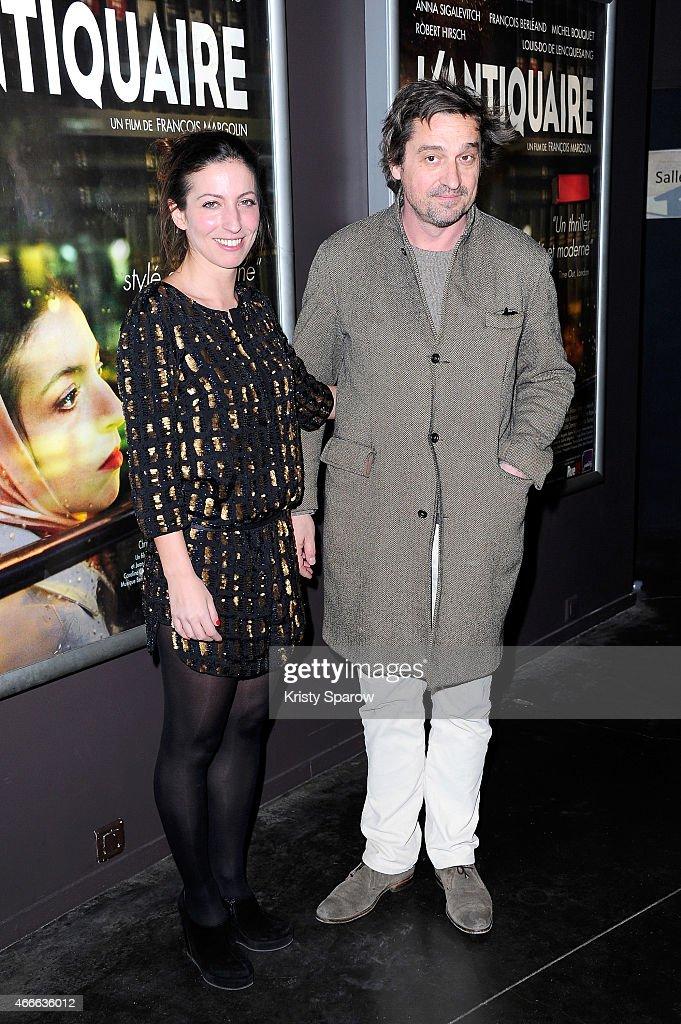 'L'Antiquaire' Paris Premiere At Cinema Des Cineates