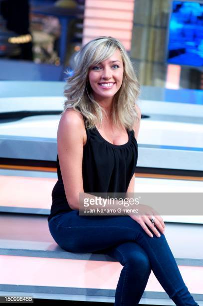 Anna Simon attends 'El Hormiguero' Tv show new season presentation at Vertice 360 Studio on August 30 2012 in Madrid Spain
