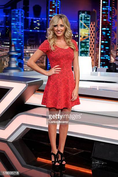 Anna Simon attends the 'El Hormiguero 30' new season presentation at the Vertice Studio on August 29 2013 in Madrid Spain