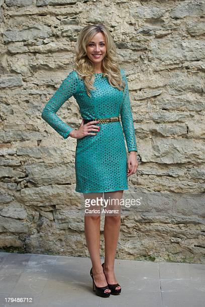 Anna Simon attends the 'Por Arte de Magia' new television show during the day three of 5th FesTVal Television Festival 2013 at the Villa Suso Palace...