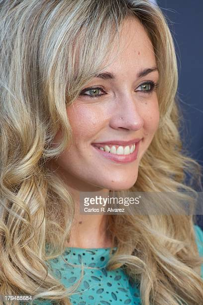 Anna Simon attends the 'Por Arte de Magia' new television show during the day three of 5th FesTVal Television Festival 2013 at the Villa Suso Palace...