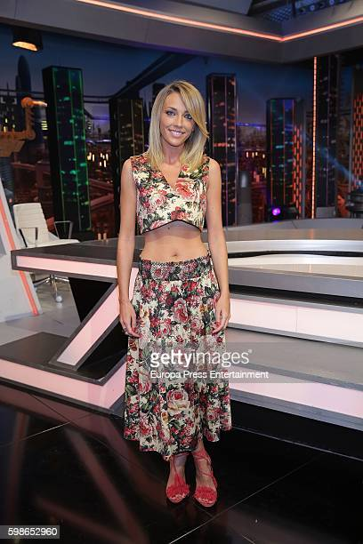 Anna Simon attends the presentation of TV programme 'El Hormiguero' on September 1 2016 in Madrid Spain