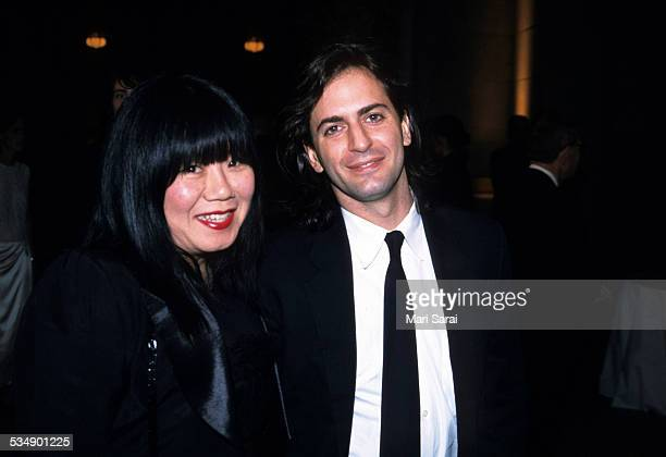 Anna Sui and Marc Jacobs at Metropolitan Museum of Art Costume Institute Gala New York April 23 2001