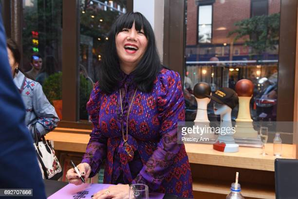 Anna Sui attends Bookmarc hosts Anna Sui 'The World of Anna Sui' Book Signing and Cocktail Reception at Bookmarc on June 1 2017 in New York City