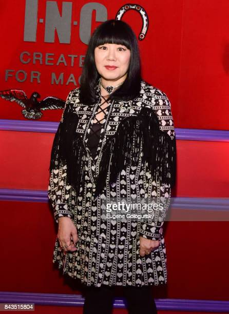 Anna Sui attends the Anna Sui x INC International Concepts Launch Party at Heath at the McKittrick Hotel on September 6 2017 in New York City