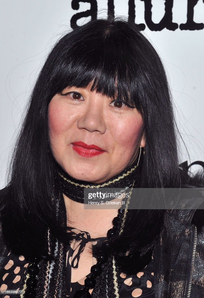 Anna Sui attends The Cinema Society with Linda Wells & Allure Magazine premiere of Entertainment One's 'Diana' at SVA Theater on October 30, 2013 in New York City.