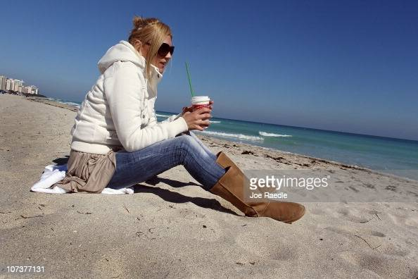 S florida stock photos and pictures getty images for Warmest florida beaches in december