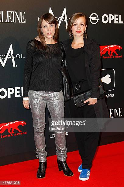 Anna Thalbach and daughter Nellie attend the New Faces Award Film 2015 at ewerk on June 18 2015 in Berlin Germany