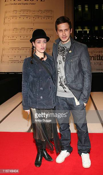 Anna Thalbach and Franz Dinda during 'Music and Lyrics' Berlin Premiere Arrivals at CineStar Movie Theatre in Berlin Berlin United States