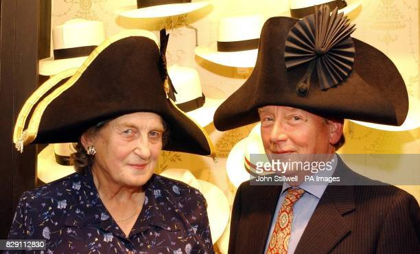 Anna Tribe from Raglan Monmouthshire and Bernard de Salis from Dorset who are the greatgreatgreat grandchildren of British Admiral Horatio Nelson and...