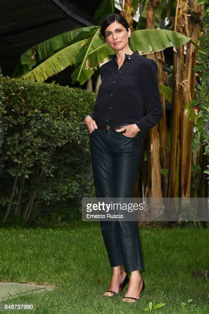 Anna Valle attends a photocall for 'Le Sorelle' at Rai Viale Mazzini on March 6 2017 in Rome Italy