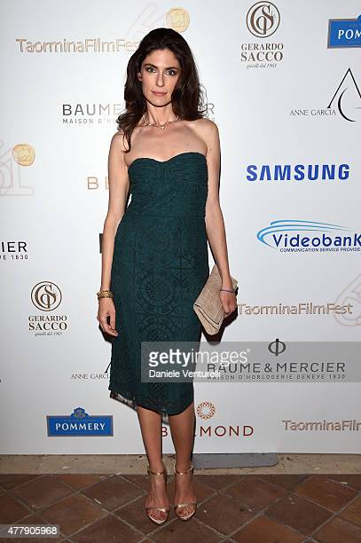Anna Valle attends Day 8 of the 61st Taormina Film Fest on June 20 2015 in Taormina Italy