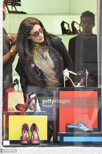 Anna Valle is seen on June 4 2014 in Milan Italy