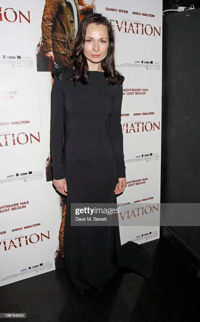 Anna Walton attends the World Premiere of 'Deviation' after Party at 55 New Oxford Street on February 23, 2012 in London, England.