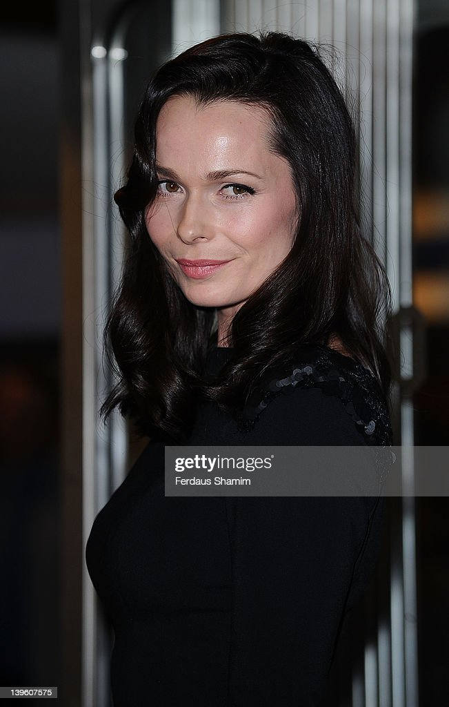 Anna Walton attends the world premiere of 'Deviation' at Odeon Covent Garden on February 23, 2012 in London, England.