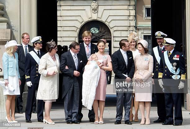 Anna Westling Prince Carl Philip of Sweden Ewa Westling Olle Westling Prince WillemAlexander of the Netherlands Princess Victoria of Sweden Princess...