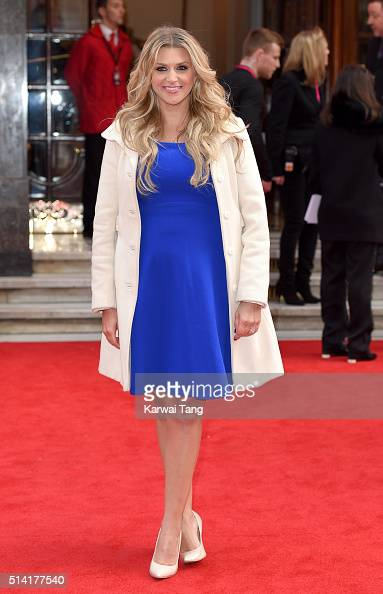 Anna Williamson arrives for the Prince's Trust and Samsung Celebrate Success Awards at the London Palladium on March 7 2016 in London England