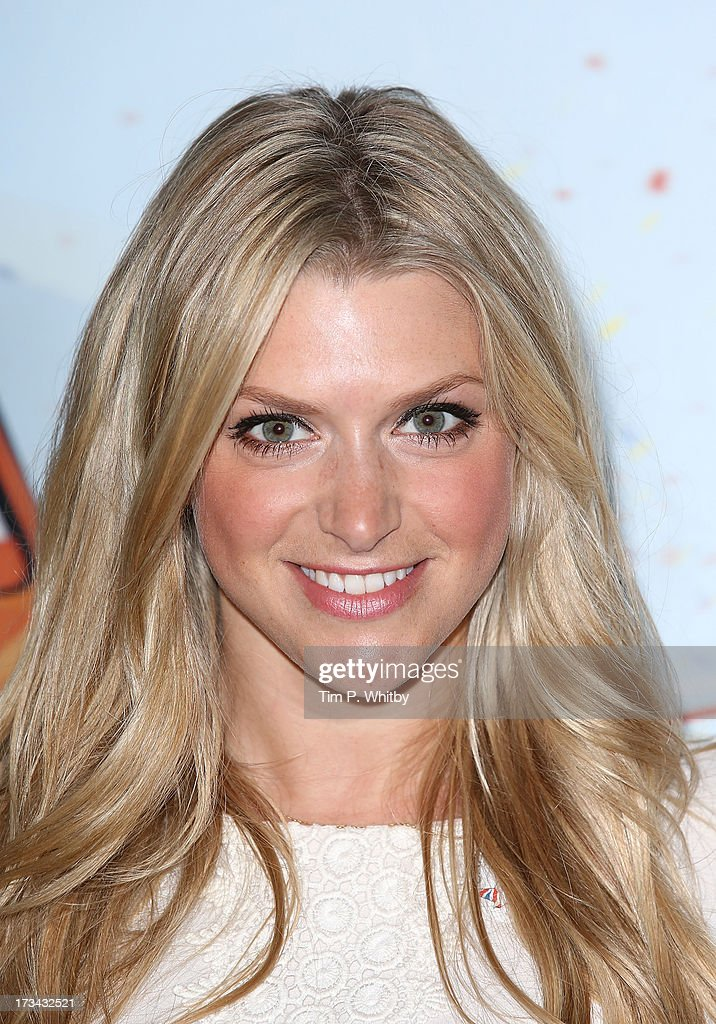 Anna Williamson attends a special screening of Disney's 'Planes' at Odeon Leicester Square on July 14, 2013 in London, England.