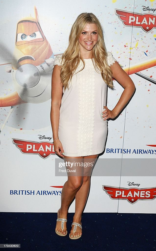 Anna Williamson attends special screening of 'Planes' at Odeon Leicester Square on July 14, 2013 in London, England.