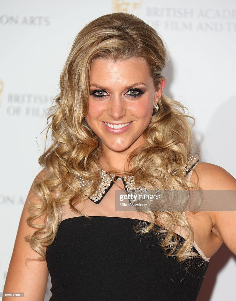 Anna Williamson attends the British Academy Children's Awards at London Hilton on November 25, 2012 in London, England.