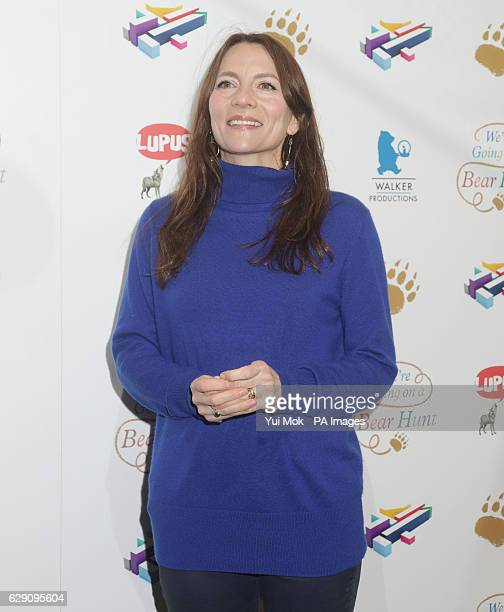 Anna WilsonJones attends a screening of We're Going on a Bear Hunt at the Empire Leicester Square in central London
