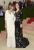 Anna Wintour and Bee Shaffer attend the 'Manus x Machina Fashion In An Age Of Technology' Costume Institute Gala at Metropolitan Museum of Art on May...