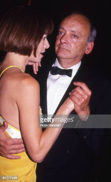 Anna Wintour and husband Dr Schaefer dancing at Tavern on the Green restaurant New York 1990