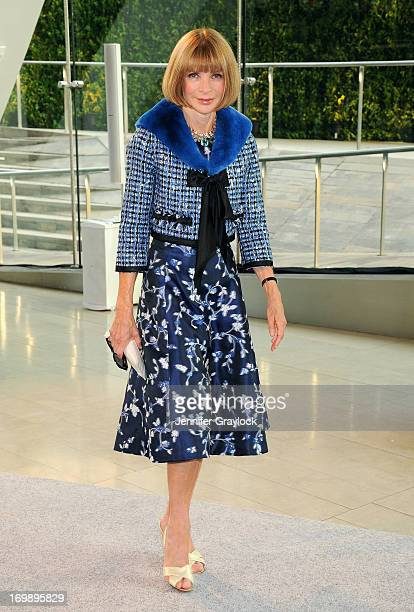 Anna Wintour attends 2013 CFDA FASHION AWARDS underwritten by Swarovski at Lincoln Center on June 3 2013 in New York City