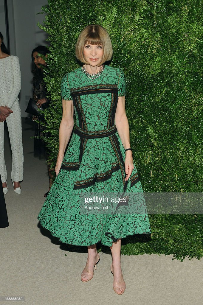 <a gi-track='captionPersonalityLinkClicked' href=/galleries/search?phrase=Anna+Wintour&family=editorial&specificpeople=202210 ng-click='$event.stopPropagation()'>Anna Wintour</a> attends the 11th annual CFDA/Vogue Fashion Fund Awards at Spring Studios on November 3, 2014 in New York City.