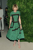 Anna Wintour attends the 11th annual CFDA/Vogue Fashion Fund Awards at Spring Studios on November 3 2014 in New York City